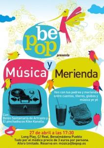 MUSICA Y MERIENDA